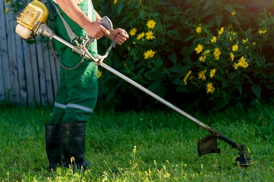 maquinaria de jardineria